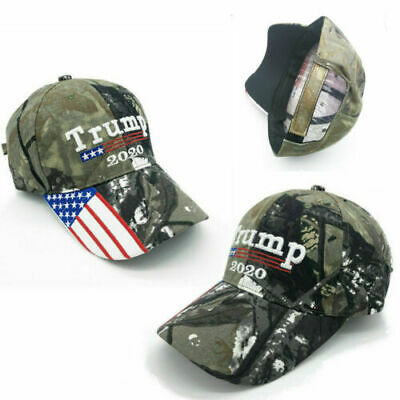 Donald Trump Cap Keep America Great hat President 2020 Flag Mossy US Stcok d6