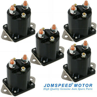 5PK Club Car DS Golf Cart Part 36V 36 Volt Solenoid (1976-1998) 4 Terminal 8016