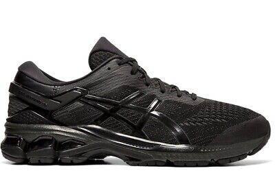 NEW ASICS MENS GEL KAYANO 26 Training Running Gym Shoe Black /Black 1011A541 002