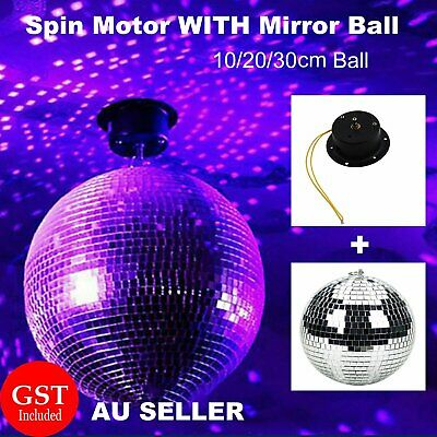 Mirror Disco Reflective Ball With Spin Motor DJ Dance Party Club Stage Lighting