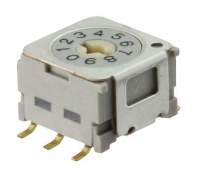 Nkk Switches-Nd3Fr10P-R-Rotary Coded Sw£¬10P£¬Decimal£¬0.1A£¬5V