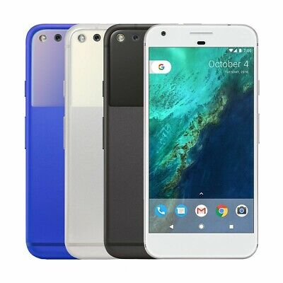 Google Pixel XL 32gb 128gb Blue Silver Black Unlocked Android GSM World Phone