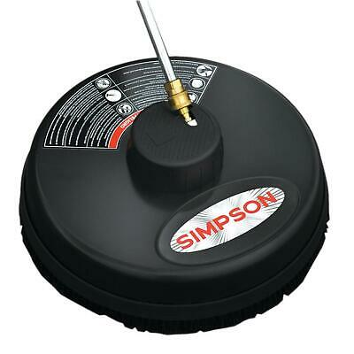 Simpson 3600 PSI Surface Cleaner 15 in. Quick Connect Plug Clean Floors Driveway