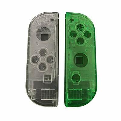 Replace Shell Case Translucent Housing for Nintendo Switch Joy-Con Controller
