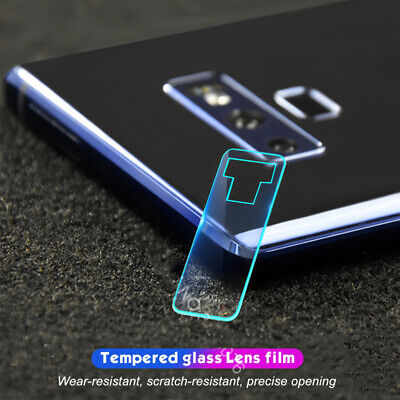 Samsung Galaxy S10+Plus S10E Note 9 Back Camera Lens Tempered Glass Protector d6