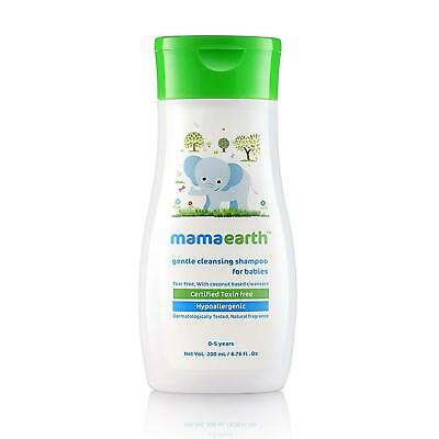 Mamaearth Gentle Cleansing Shampoo For Babies 200 ml Free Shipment