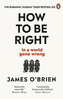 How To Be Right: … in a world gone wrong Paperback *FREE EXPRESS DELIVERY