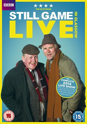 Still Game Live In Glasgow Dvd Brand New & Factory Sealed