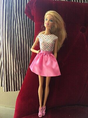 Barbie Lovely Blonde Hair Pretty Party Dream House Fashionista Mattel