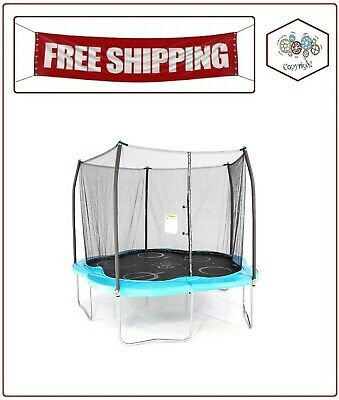 Skywalker Trampolines 11' Adventure Arena Trampoline with Enclosure Teal