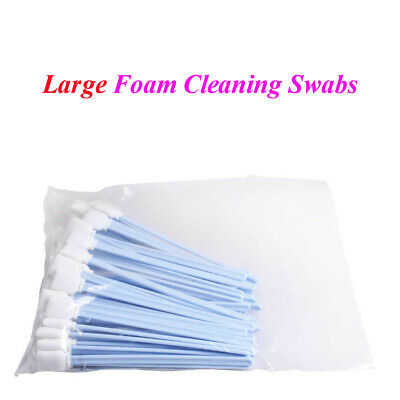 "50pcs Large Foam Cleaning Swabs for Epson / Roland / Mimaki / Mutoh 9"" Long"