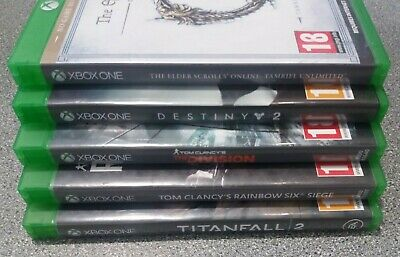 Bundle/Joblot of 5 Online Xbox One Games - Preowned - Fast Dispatch