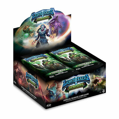 Lightseekers TCG Uprising (Wave 4) Booster Box, includes 24 Booster Packs (BNIB)