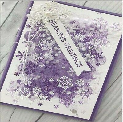 Snowflake Christmas Metal Cutting Mold Stencil DIY Scrapbooking Album decoration