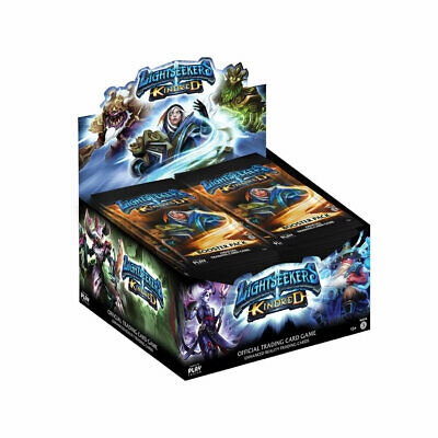 Lightseekers TCG Kindred (Wave 3) Booster Box, includes 24 Booster Packs (BNIB)