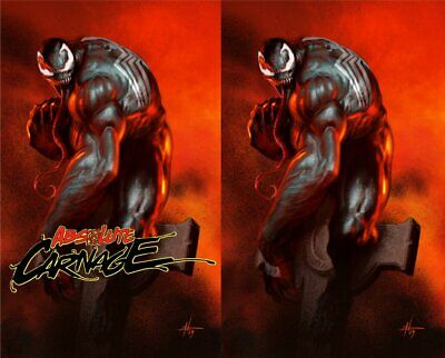 Absolute Carnage 1 Dell Otto Virgin Variant Set PRE ORDER 8/7/19