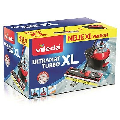 Vileda Rotary Mop Xl Set Ultramat Turbo 42 Cm Replacement
