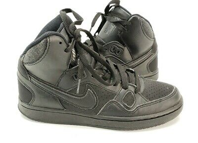 Nike 615158-021 Kids Youth Boys Girls Son of Force Mid Top Basketball Shoes 5Y