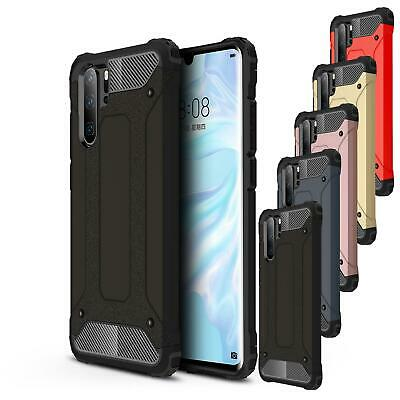 Shock Proof Case For Huawei P30 Pro Lite Black Armour Dual Layer Phone Cover