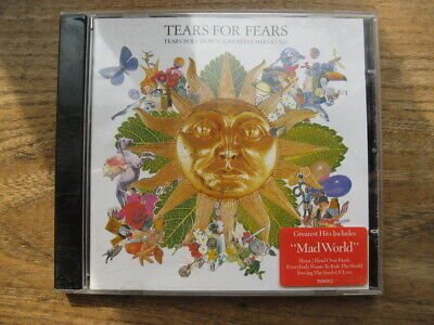 TEARS FOR FEARS - Tears Roll Down (Greatest Hits 82-92)  - Very Good used CD