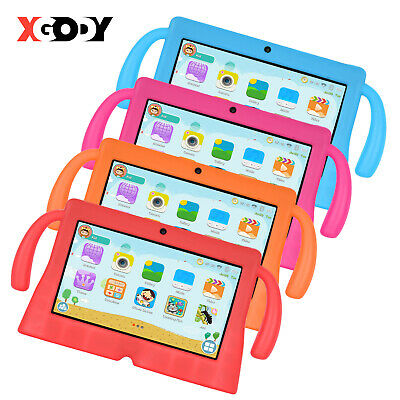 """XGODY 7"""" Tablet PC 16GB Quad Core Android 8.1 Dual Camera for Kids Student Pad"""