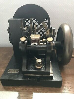 Microtome,Antique E.leitz Minot  (new York) Rotary,Stunning Piece, Working