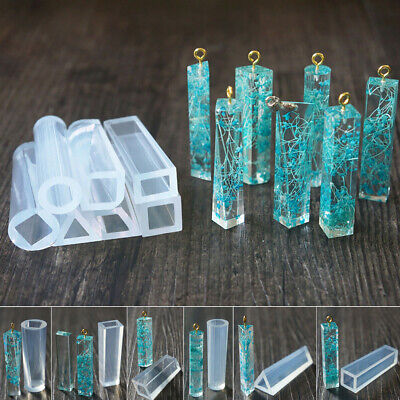 DIY Liquid Silicone Mold Resin Craft Tool Casting Mould Necklace Jewelry W4M7F