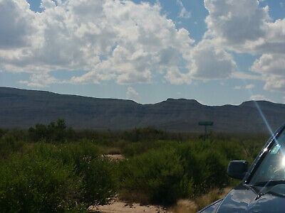 Texas land 40+ Acres-1 hour El Paso -ON  BASE OF MOUNTAINS  Rare!