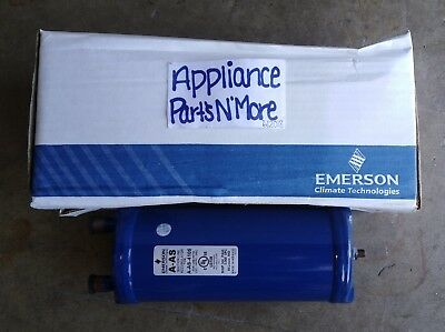 """Emerson Suction Accumulator 060966 A-As-4105 4"""" Diameter Free Shipping New Part"""