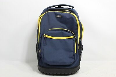 "Rockland 19"" Rolling Backpack, Navy R02-NAVY - Preowned"