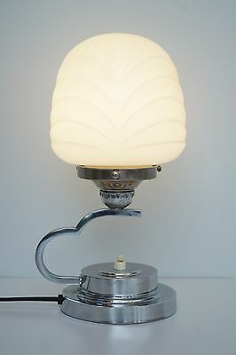 Unique Original Art Déco Bauhaus Chrome Skyscraper Table Lamp Delicate 1930