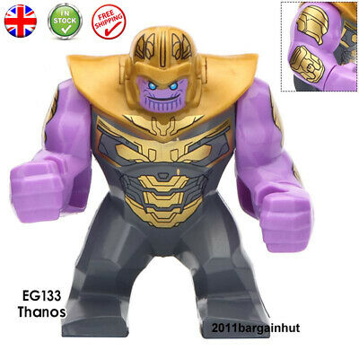 Thanos Figure Lego Fit Avengers End Game Marvel UKSeller UK Stock Minifigure Lot