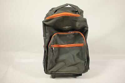 Rockland Luggage 17 Inch Rolling Backpack, Charcoal, One Size - For Parts