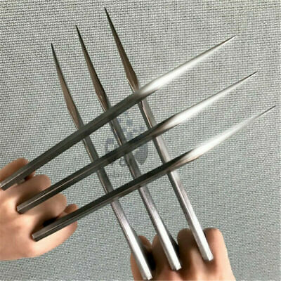 1 Pair X-Men Logan Wolverine Claws Blade of Refinement Claws ABS Cosplay Props