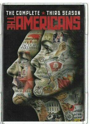 Sealed NEW DVD - TV Series -   THE AMERICANS Season 3