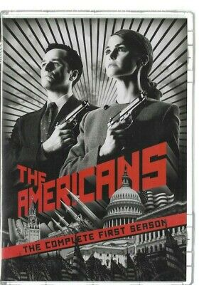 Sealed NEW DVD - TV Series -   THE AMERICANS Season 1