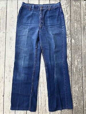 bfd9796c02 Vintage Levi Strauss & Co Plowboy Farmers Mechanics & Miners Blue Jeans 29