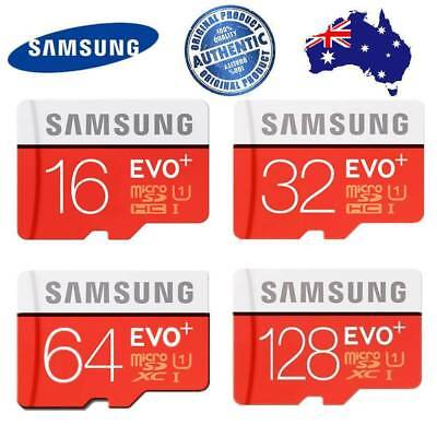 Micro SD Card Samsung 64GB 32G 16G 128G Class10 Mobile Phone Tablet Memory _CB