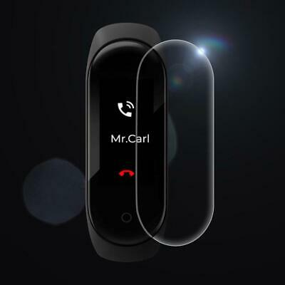 1-5PCS 9H Tempered Glass Front Screen Protector Film Cover For Xiaomi Mi Band 4