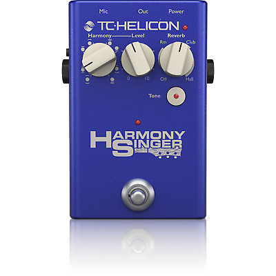 New TC-Helicon Harmony Singer 2 Live Harmonizer Vocal Processor Effects Pedal