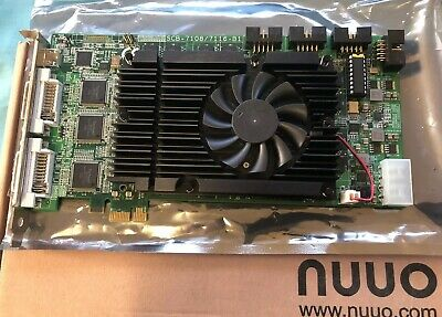 NUUO SCB-7108 8 Channel H.264 PCI-E Video Capture Card