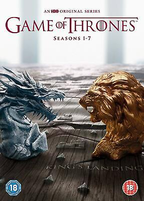 Game of Thrones Season 1-7 Complete Collection 1 2 3 4 5 6 7 New UK Region 2 DVD