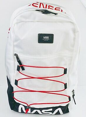 X Rare Limited Edition New Backpack Snag Plus Vans Nasa Space White yYbf76g