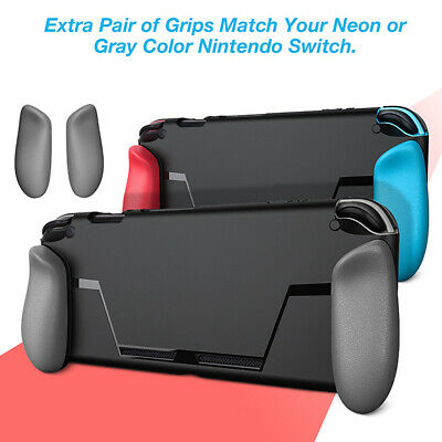 Durable Ergonomic Grip Protect Case Shell Cover Fit Funny For Nintendo Switch