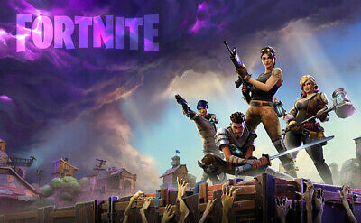Fortnite Video Game Zombie Wall Poster Art Wallpaper High Qulity Print A1 A2 A3