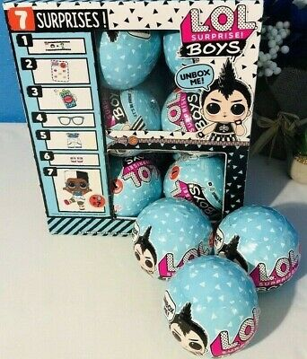 LOL Surprise Boys Series 1 -Blue Ball- Authentic -In Hand- Fast Ship NEW 2019