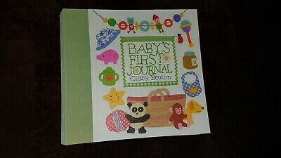 First baby journal from Jojo Maman Bebe
