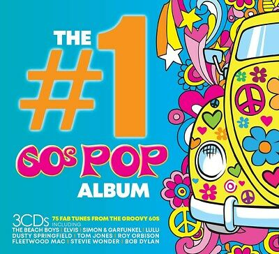 The #1 60s Pop Album - Various Artists (Box Set) [CD]