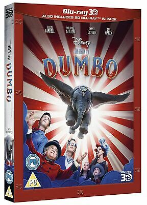 Dumbo (3D Edition with 2D Edition) [Blu-ray] RELEASED 29/07/2019