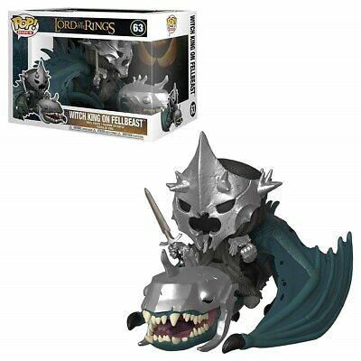 FUNKO: POP! Rides: Lord of the Rings S5 (Witch King with Fellbeast) [POPS]